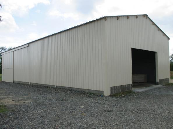 Votre hangar agricole par un sp cialiste du batiment bois et du hangar en kit - Isolation hangar agricole ...