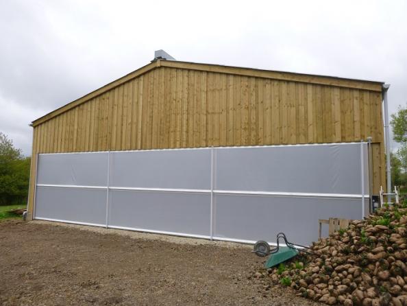 hangar bois elevage