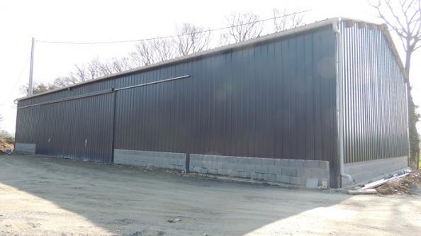 Votre hangar agricole par un spécialiste du batiment bois et du hangar en kit Le B u00e2timent Bois # Hangar Bois Kit Pas Cher