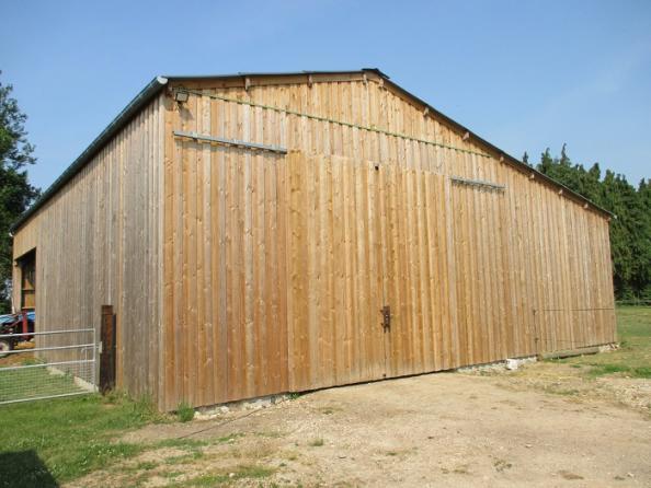 stockage atelier batiment bois