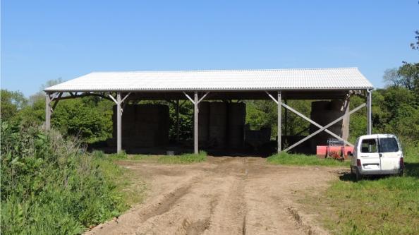 bâtiment de stockage paille en kit