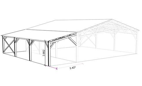 votre batiment agricole en bois pour une construction saine au tarif imbattable le b timent bois. Black Bedroom Furniture Sets. Home Design Ideas