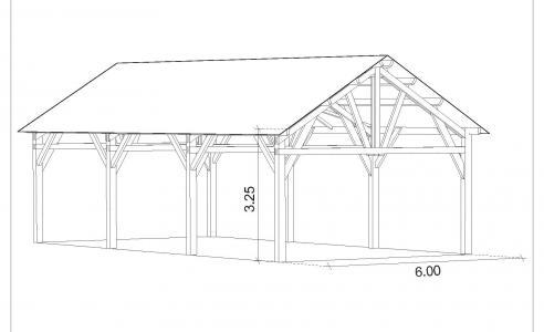 Votre batiment agricole en bois pour une construction for Batiment en bois en kit