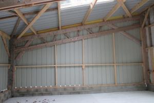 Monopente pour stockage materiel